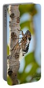Cicada On Fig Tree Portable Battery Charger