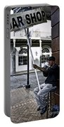 Cigar Shop On Bourbon Street New Orleans Portable Battery Charger