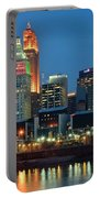 Cincinnati Blue Hour Portable Battery Charger
