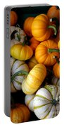 Cinderella Pumpkin Pile Portable Battery Charger by Kerri Mortenson