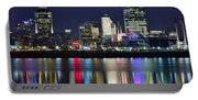 Cinicinnati At Dusk Portable Battery Charger