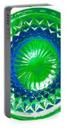Circle Green Portable Battery Charger