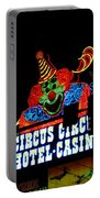 Circus Circus Sign Vegas Portable Battery Charger