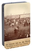 Circus Train Wreck, 1896 Portable Battery Charger