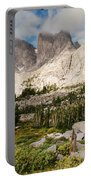 Cirque Of The Towers Portable Battery Charger