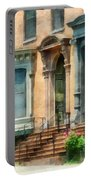 Cities - Albany Ny Brownstone Portable Battery Charger