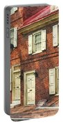 Cities - Philadelphia Brownstone Portable Battery Charger