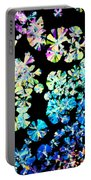 Citric Acid Microcrystal Colorful Abstract Art Portable Battery Charger