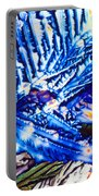 Citric Acid Microcrystals Abstract Color Art Portable Battery Charger