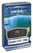 Citroen 2 Cv - France Portable Battery Charger