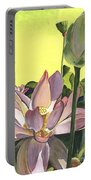 Citron Lotus 2 Portable Battery Charger by Debbie DeWitt