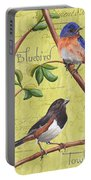 Citron Songbirds 1 Portable Battery Charger by Debbie DeWitt