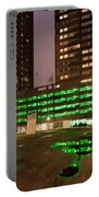 City At Night Urban Abstract Portable Battery Charger