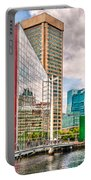 City - Baltimore Md - Harbor Place - Future City  Portable Battery Charger