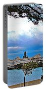 City By The Bay In San Francisco-california  Portable Battery Charger