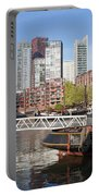 City Centre Of Rotterdam In Netherlands Portable Battery Charger