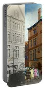 City - Chattanooga Tn - 1943 - The Masonic Temple - Both Portable Battery Charger
