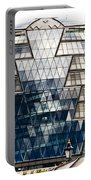 City Hall London Portable Battery Charger by Christi Kraft