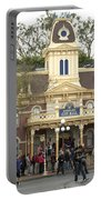 City Hall Main Street Disneyland Portable Battery Charger