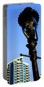 City Lamp Post Portable Battery Charger by Karol Livote