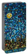 City Mosaic Portable Battery Charger