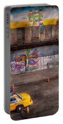City - New York - Greenwich Village - Life's Color Portable Battery Charger