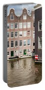 City Of Amsterdam Canal Houses Portable Battery Charger