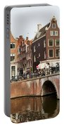 City Of Amsterdam In Holland Portable Battery Charger