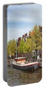 City Of Amsterdam In The Netherlands Portable Battery Charger