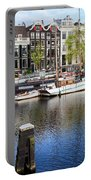 City Of Amsterdam River View Portable Battery Charger