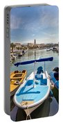 City Of Split Colorful Harbor View Portable Battery Charger