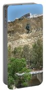City On A Cliff Portable Battery Charger