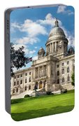 City - Providence Ri - The Capitol  Portable Battery Charger