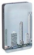 City Skyline, Bocagrande, Cartagena Portable Battery Charger