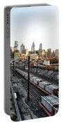 City Up The Tracks Portable Battery Charger