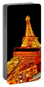 City - Vegas - Paris - Eiffel Tower Restaurant Portable Battery Charger