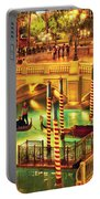 City - Vegas - Venetian - The Venetian At Night Portable Battery Charger