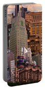 Cityscape Dream Portable Battery Charger