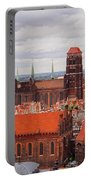 Cityscape Of Gdansk Portable Battery Charger