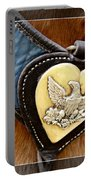 Civil War Horse Breastplate Portable Battery Charger