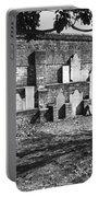 Civil War Wall Of Tombstones Savannah Georgia Portable Battery Charger