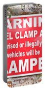 Clamping Sign Portable Battery Charger