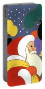 Clarice Cliff Santa Portable Battery Charger