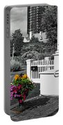 Clark House Flowers 2 Portable Battery Charger