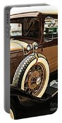 Classic 1928 Ford Model A Sport Coupe Convertible Automobile Car Portable Battery Charger