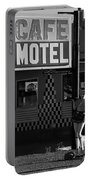 Classic 50s Motel Cafe Portable Battery Charger