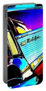 Classic 57 Chevy Art Portable Battery Charger