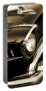 Classic '57 Chevy Bel Air In Sepia  Portable Battery Charger