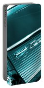 Classic '57 Teal And Chrome Portable Battery Charger