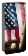 Classic Americana Portable Battery Charger by Bill Wakeley